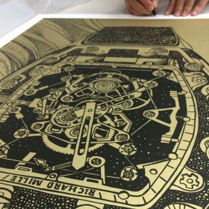 Richard Mille Print Signed