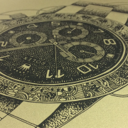 Rolex Print Close Up